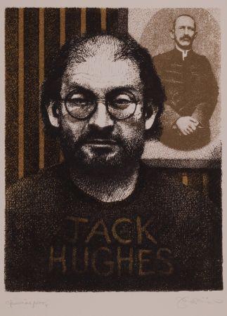 Литография Phillips - Salman Rushdie as DIY Zola