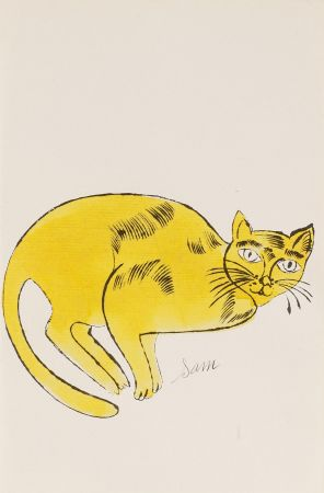 Литография Warhol - Sam (From 25 Cats named Sam and one blue Pussy, FS IV. 67A.)