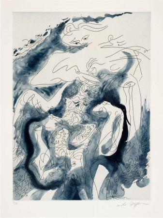 Офорт И Аквитанта Masson - Samson et Dalila des