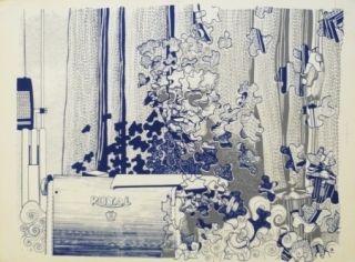 Сериграфия Malaval - Samuel Fuller independant Film Maker