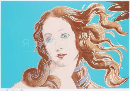 Сериграфия Warhol - Sandro Botticelli, Birth Of Venus, 1482 (Fs Ii.319)