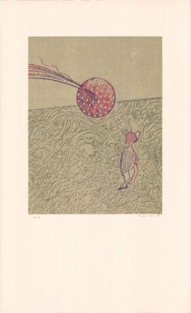 Литография Ernst - Sans titre