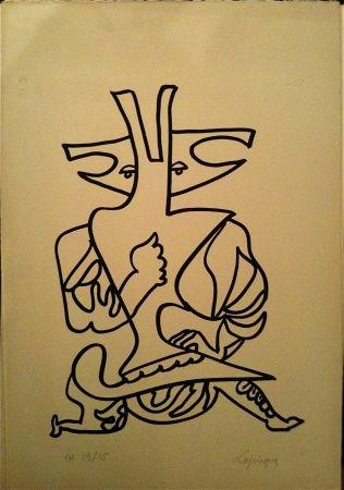 Литография Lapicque - Sans titre