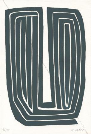 Литография Ubac - Sans titre.