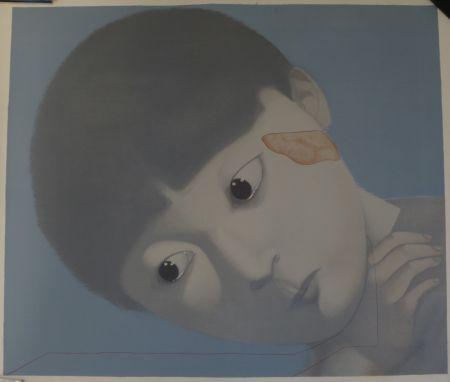 Литография Xiaogang - Sans titre