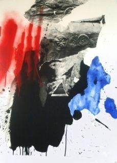 Литография Clavé - Sans Titre