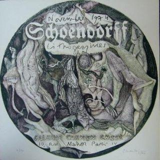 Литография Schoendorff - Sans titre