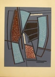 Литография Magnelli - Sans titre
