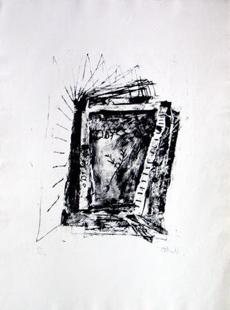 Литография Barcelo - Sans Titre