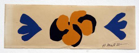 Литография Matisse - Sans Titre