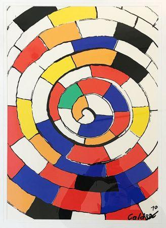 Литография Calder - Sans Titre