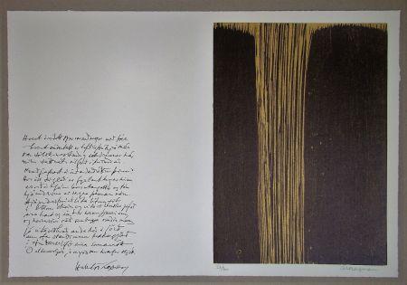 Гравюра На Дереве Bergmann - Sans titre