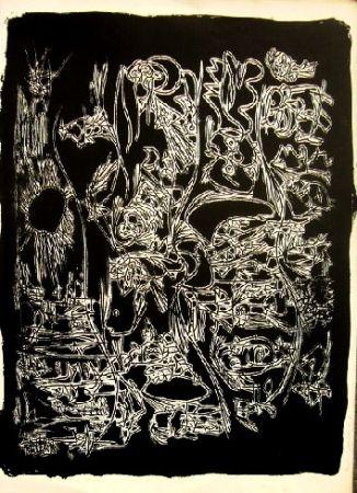 Литография Jorn - Sans titre