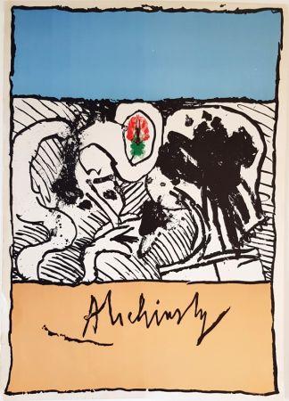 Литография Alechinsky - Sans Titre