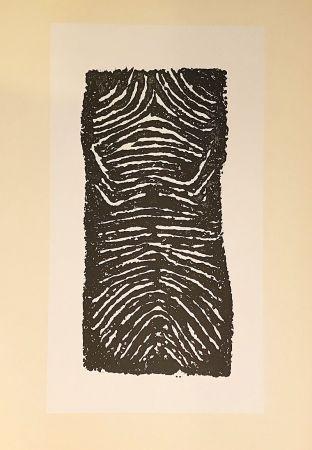 Литография Ubac - Sans titre (1971)
