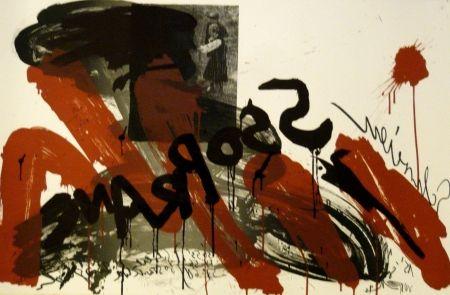 Литография Vostell - Sans titre 2