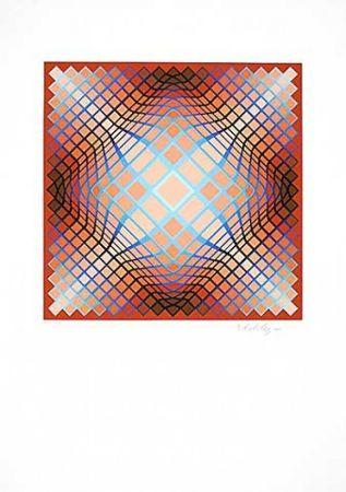 Литография Vasarely - Sans Titre 2