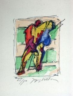 Литография Villon - Sans titre 3
