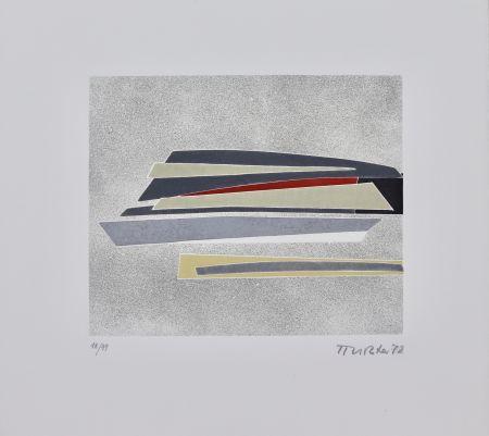 Офорт И Аквитанта Richter - Sans titre [Composition abstraite]