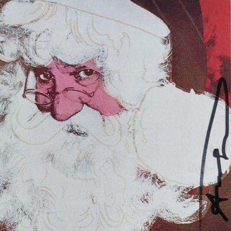 Сериграфия Warhol - Santa Claus