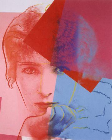 Сериграфия Warhol - Sarah Bernhardt (FS II.234) Trial Proof