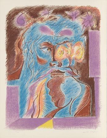Литография Masson - Satan from Je Reve Portfolio