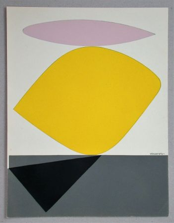Трафарет Vasarely - Sauzon - 1952