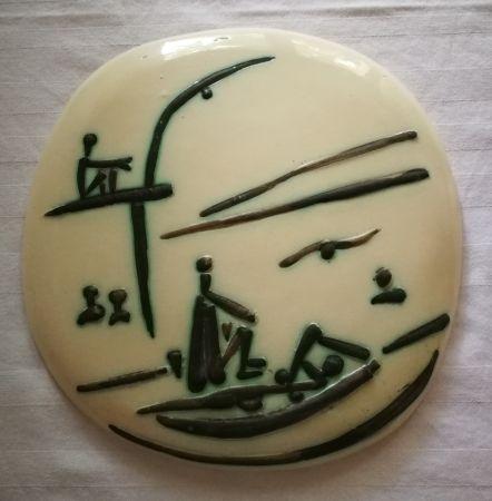 Керамика Picasso - Scene de plage