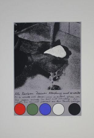 Сериграфия Rühmann - Scharfe Überlegung