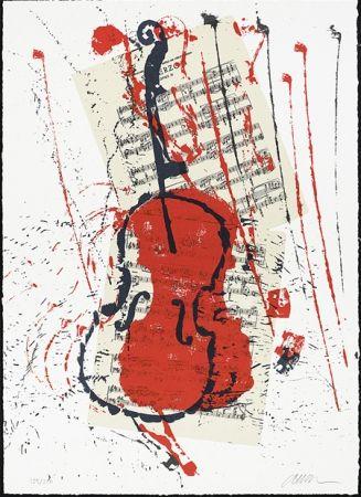 Сериграфия Arman - Scherzo opus 31