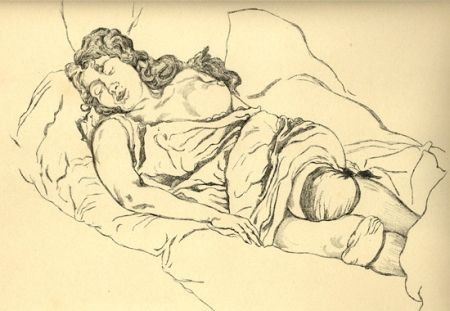 Иллюстрированная Книга Vrieslander - Schlafende Frauen / Sleeping Women