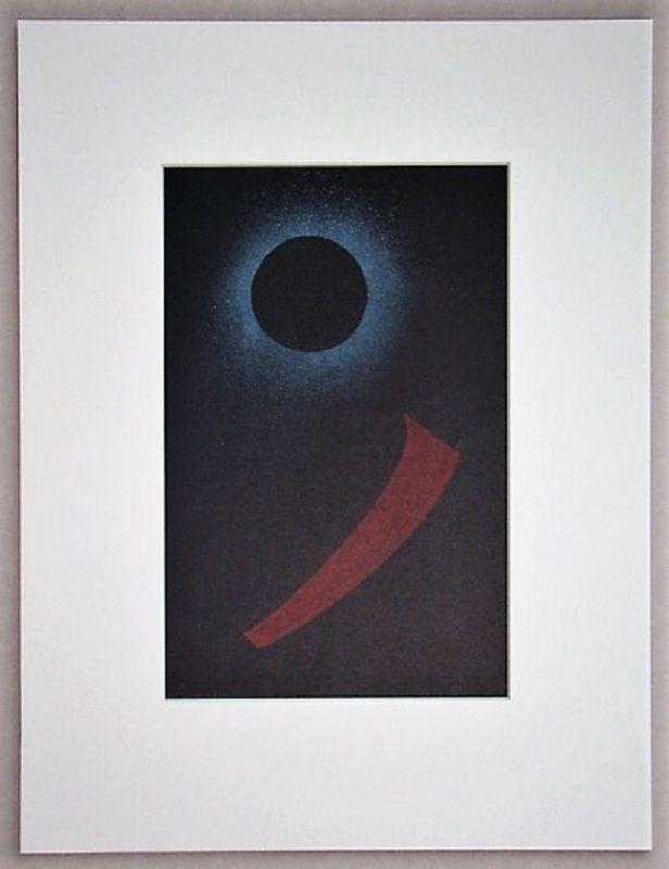 Литография Kandinsky - Schwarze Sonne, 1940