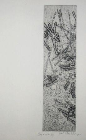 Гравюра Celan Lestrange - Schwarzmaut - 11
