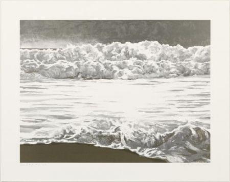 Литография Gornick - Sea edge