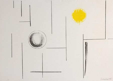 Литография Hepworth - Sea Forms