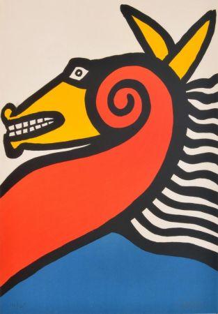 Литография Calder - Sea Horse