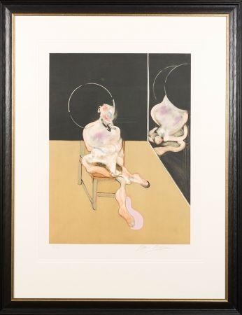 Акватинта Bacon - 'Seated Figure'