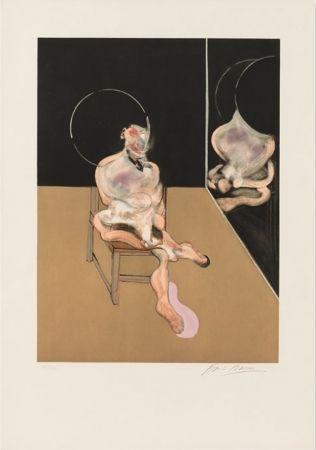 Акватинта Bacon - Seated Figure 1983