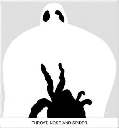 Цифровой Эстамп Baldessari - SEDIMENT: THROAT, NOSE AND SPIDER