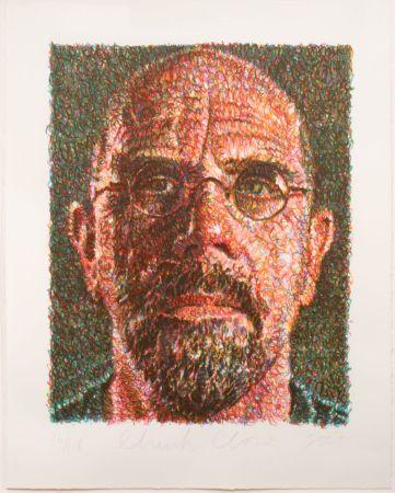 Сериграфия Close - Self-Portrait