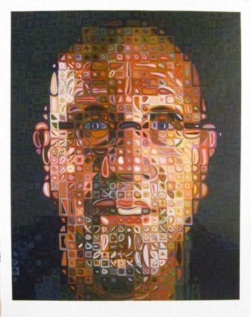 Сериграфия Close - Self-Portrait Screenprint 2012