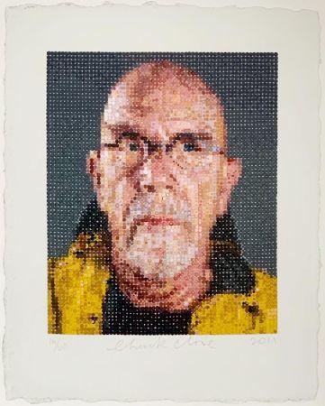 Сериграфия Close - Self Portrait (1)