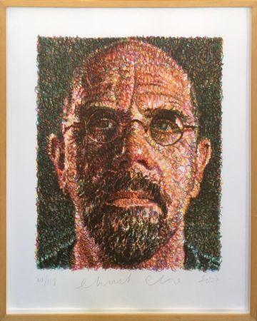 Сериграфия Close - Self Portrait (Lincoln Center)