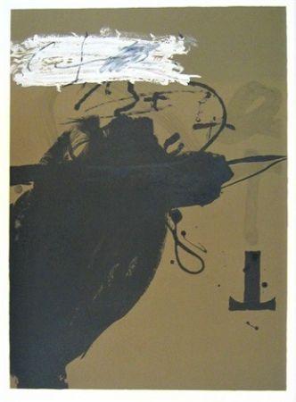 Литография Tàpies - Senanque 2