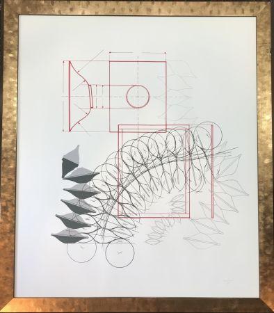 Литография Bonalumi - Senza titolo
