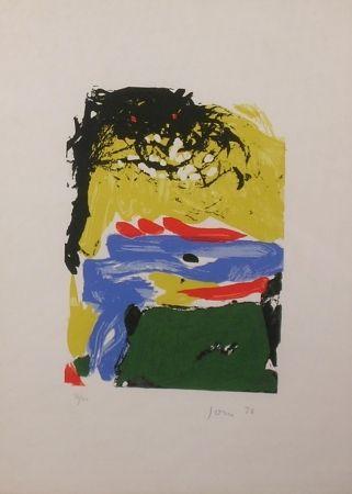 Литография Jorn - Senza Titolo