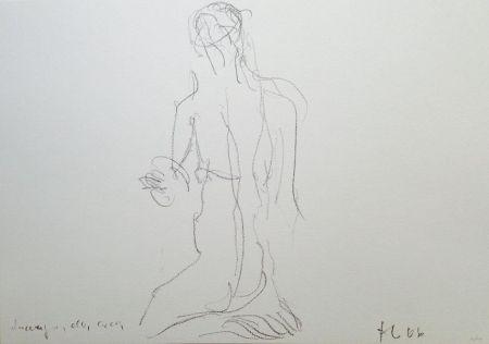 Литография Fabro - Senza titolo