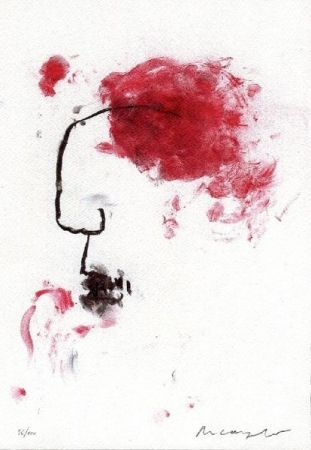 Литография Arcangelo - Senza titolo
