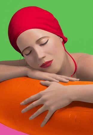 Сериграфия Feuerman - SERENA WITH RED CAP