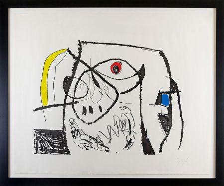 Гравюра Miró - Serie Mallorca Plate XII